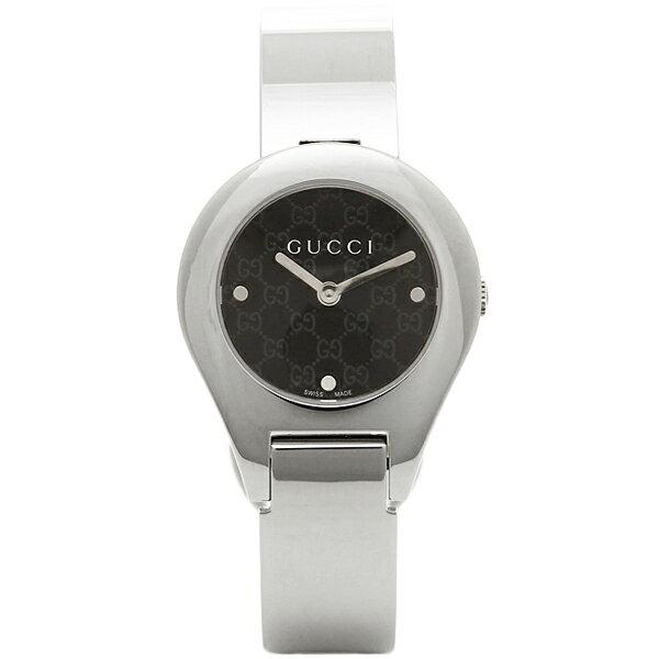 グッチ 時計 レディース GUCCI YA067505 6700シリーズ 腕時計 ウォッチ ブラック/シルバー グッチ 時計 レディース