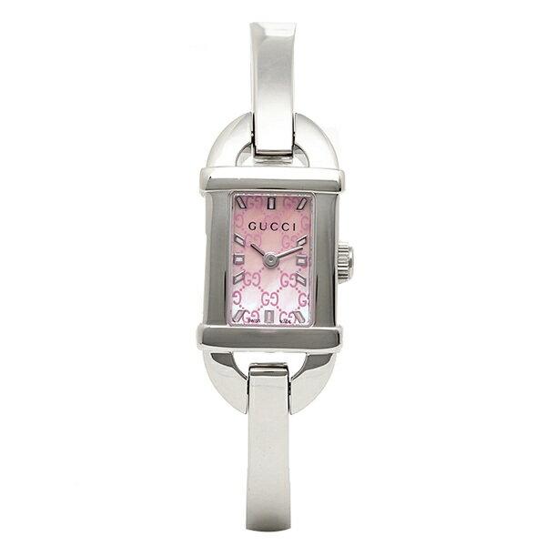グッチ 時計 レディース GUCCI YA068586 6800シリーズ 腕時計 ウォッチ ピンクパール/シルバー