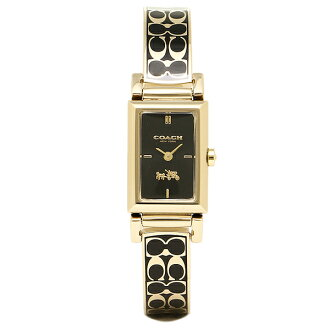 Coach COACH watches watch coach watches ladies 14502120 COACH MADISON Madison watch Watch Gold / black