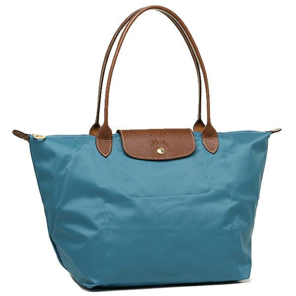 Longchamp bags LONGCHAMP 1899 089 827 LE PLIAGE SHOULDER BAG L tote bag ICE BLUE