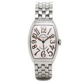 フランクミュラー 時計 メンズ FRANCK MULLER 5850 CASA SAHARA カサブランカサハラ 腕時計 ウォッチ ホワイト/シルバー