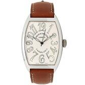 フランクミュラー 時計 メンズ FRANCK MULLER 6850 CASA SAHARA カサブランカサハラ 腕時計 ウォッチ ホワイト/ブラウン