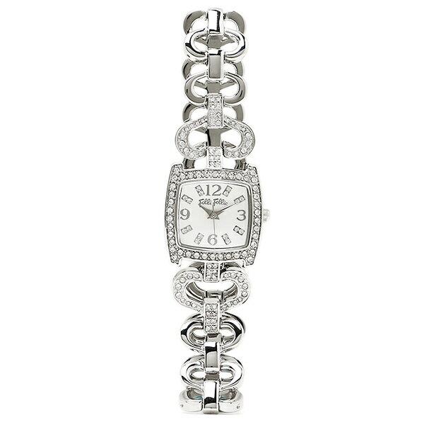 フォリフォリ FOLLI FOLLIE 時計 腕時計 フォリフォリ 時計 FOLLI FOLLIE 腕時計 レディース WF5T120BPS ホワイト/シルバー ウォッチ 洋風