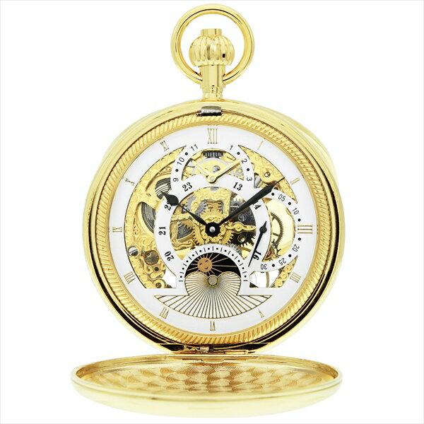 ゾンネ 時計 メンズ/レディース SONNE S155YG 懐中時計 ポケットウォッチ ゴールド