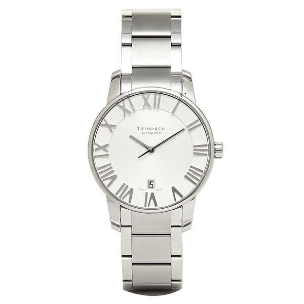 ティファニー 時計 メンズ TIFFANY&Co. Z1800.68.10A21A00A 自動巻 ATLAS DOME 腕時計 ウォッチ シルバー ティファニー 時計 TIFFANY&Co. メンズ