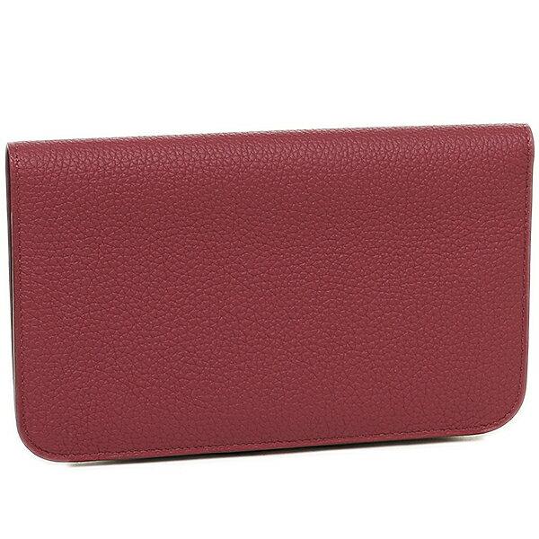 hermes Dogon Duo blue jean wallet