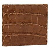 ジェイアンドエムデヴィッドソン 財布 J&M DAVIDSON 10013 7267 50 WALLET W COIN CASE MOCK CROCK 2つ折り財布 CUOIO