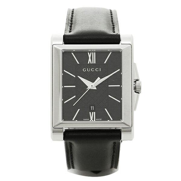 グッチ 時計 メンズ GUCCI YA138503 Gタイムレス 腕時計 ウォッチ ブラック/シルバー