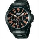 エンジェルクローバー 時計 メンズ ANGEL CLOVER ROENコラボレーション 腕時計 ウォッチ ブラック