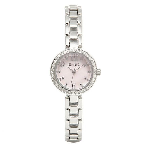 ルビンローザ 時計 Rubin Rosa R502SPKMOP ソーラー 腕時計 ウォッチ ピンク/シルバー