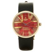 ヴィヴィアンウエストウッド 時計 レディース VIVIENNE WESTWOOD VV021UJBK ユニオンジャック 腕時計 ウォッチ ブラック/レッド
