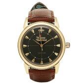 ヴィヴィアンウエストウッド 時計 メンズ VIVIENNE WESTWOOD VV064BKBR GROSVENOR 腕時計 ウォッチ ブラック/ブラウン