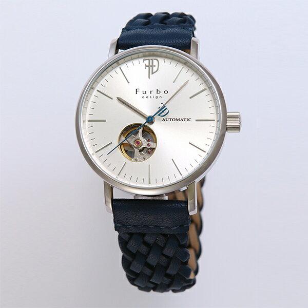 フルボデザイン 時計 メンズ Furbo design F2002SSINV 自動巻き 腕時計 ウォッチ シルバー/ネイビー フルボデザイン 腕時計 Furbodesign メンズ