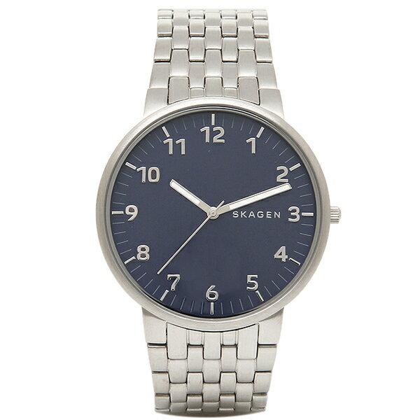 スカーゲン 時計 メンズ SKAGEN SKW6201 ANCHER アンカー 腕時計 ウォッチ ブルー/シルバー スカーゲン 腕時計 SKAGEN 薄型 スリム