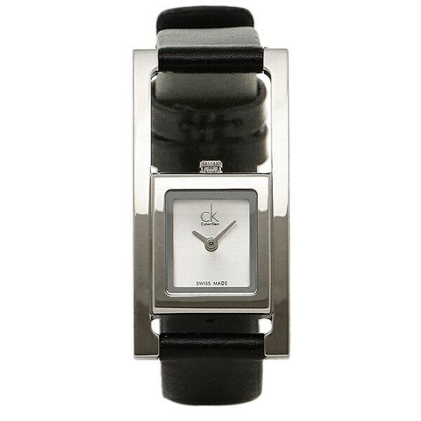カルバンクライン 時計 レディース CALVIN KLEIN K4H431.C6 UNEXPECTED アンエクスペクティッド 腕時計 ウォッチ シルバー/ブラック 長野県