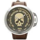 エンジェルクローバー 時計 ANGEL CLOVER RO45SBG-BW ROEN ローエン×エンジェルクローバーコラボ 腕時計 ウォッチ ブラック/ブラウン
