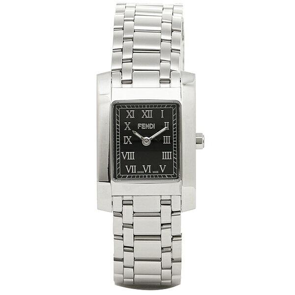 フェンディ 時計 レディース FENDI F705210J クラシコ 腕時計 ウォッチ シルバー/ブラック フェンディ 腕時計 FENDI レディース 5,400円以上で送料無料