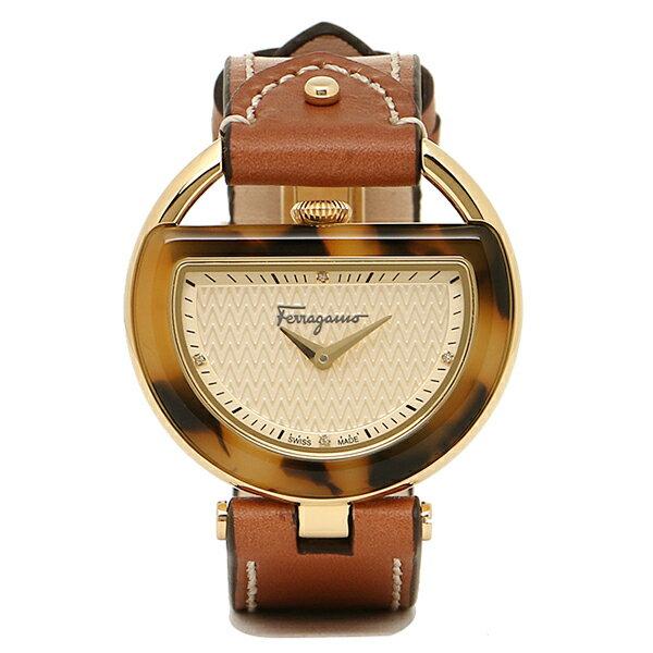 サルヴァトーレフェラガモ 時計 レディース Salvatore Ferragamo FG5020014 BUCKLE バックル 腕時計 ウォッチ ゴールド/ブラウン フェラガモ 腕時計 SalvatoreFerragamo 5,400円以上で送料無料