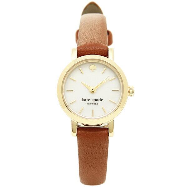 ケイトスペード 時計 KATE SPADE 1YRU0867 TINY METRO STRAP タイニーメトロ 腕時計 ウォッチ ブラウン/ゴールド KATE SPADE ケイト・スペード 時計