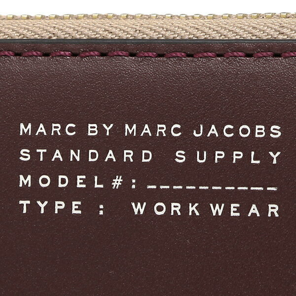 マークバイマークジェイコブス 財布 MARC BY MARC JACOBS M0007622 287 QUINTESSENTIAL COLORBLOCKED SLIM ZIP AROUND 長財布 CARDAMOM