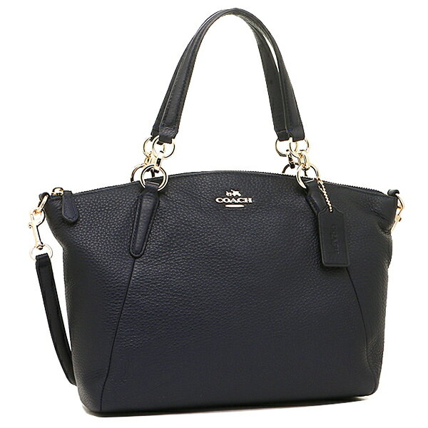 Bên ngoài Túi Coach da mềm Coach Pebble leather small Kelsey satchel 2-WAY bag midnight F36675 IMMID