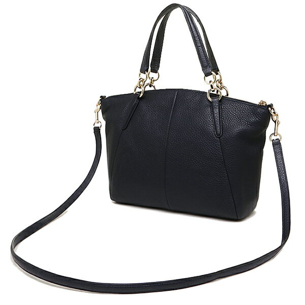 Túi Coach da mềm Coach Pebble leather small Kelsey satchel 2-WAY bag midnight F36675 IMMID