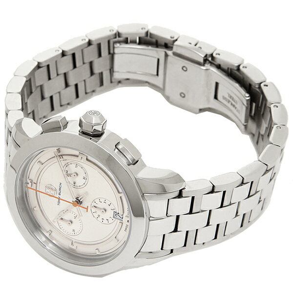 Đồng Hồ TORY WATCH, STAINLESS STEEL/SILVER CHRONOGRAPH, 37 MM