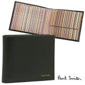 ポールスミス 財布 メンズ PAUL SMITH 4833-W761 B COIN WALLET 2つ折り財布 BLACK