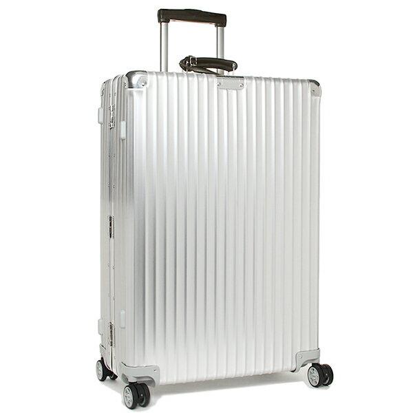 リモワ スーツケース RIMOWA 971.70.00.4 CLASSIC FLIGHT クラシックフライト 74.5CM 78L 7〜10泊用 4輪 TSAロック キャリー SILVER