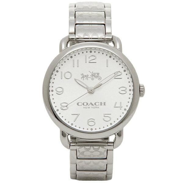 【4時間限定ポイント10倍】コーチ 腕時計 レディース COACH 14502495 シルバー