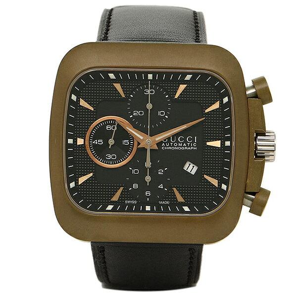 グッチ 時計 メンズ GUCCI YA131204 グッチクーペ 腕時計 ウォッチ ブラック 【l0502】