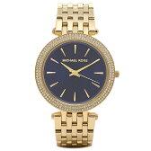 マイケルマイケルコース 時計 MICHAEL MICHAEL KORS MK3406 DARCI ダーシー 腕時計 ウォッチ ゴールド/ブルー
