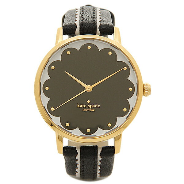 ケイトスペード 腕時計 KATE SPADE KSW1001 ブラック 【10%OFFクーポン対象 5/12~5/19 09:59】