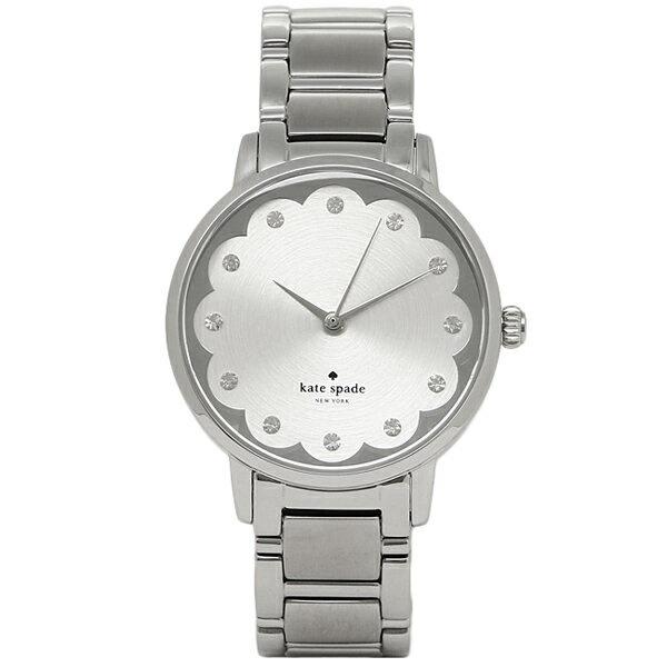 ケイトスペード 時計 KATE SPADE KSW1046 GRAMERCY SCALLOPED グラマシー 腕時計 ウォッチ シルバー