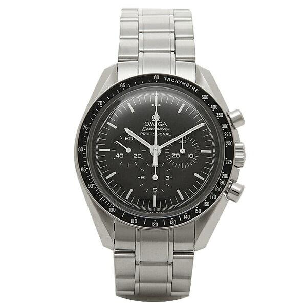 オメガ 時計 メンズ OMEGA 311.30.42.30.01.005 SPEEDMASTER スピードマスター ムーンウォッチ 手巻き 腕時計 シルバー/ブラック