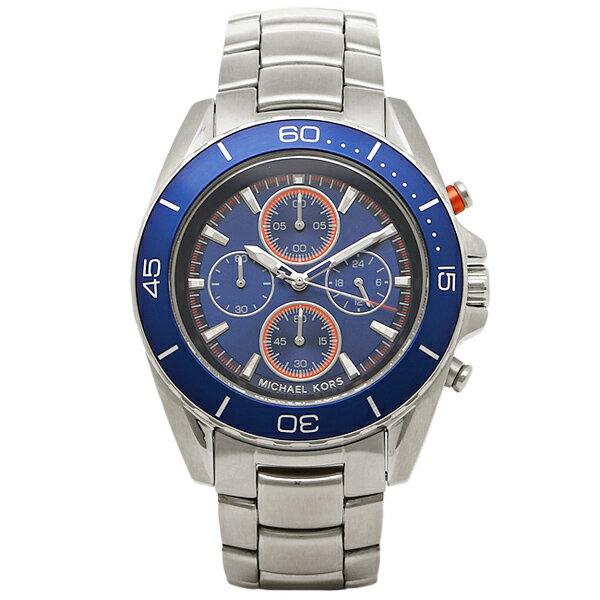 マイケルコース 腕時計 MICHAEL KORS MK8461 シルバー ブルー MICHAELMICHAELKORS マイケルマイケルコース メンズ 時計   【l0302】
