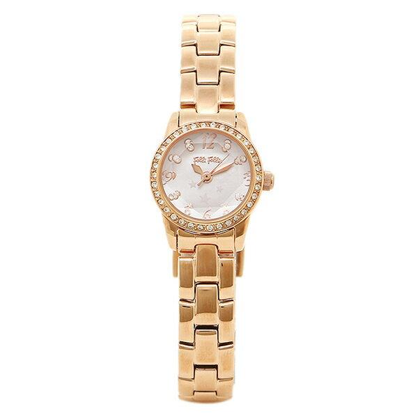 フォリフォリ 腕時計 レディース FOLLIFOLLIE WF0B025BSP ジルコニア 時計/ウォッチ ピンクシェル/ピンクゴールド FOLLI FOLLIEフォリフォリ フォリ フォリ レディース 時計 腕時計