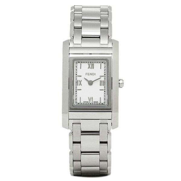 フェンディ FENDI 時計 腕時計 フェンディ 時計 レディース FENDI F775240J LOOP ウォッチ シルバー/ホワイト フェンディ 時計 レディース FENDI FENDI 5,400円以上で送料無料