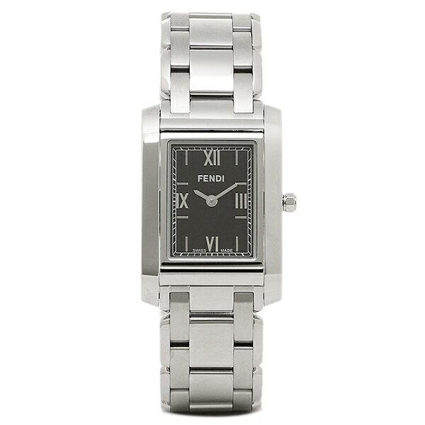 フェンディ FENDI 時計 腕時計 フェンディ 時計 レディース FENDI F775310J LOOP ウォッチ シルバー/ブラック すずしい