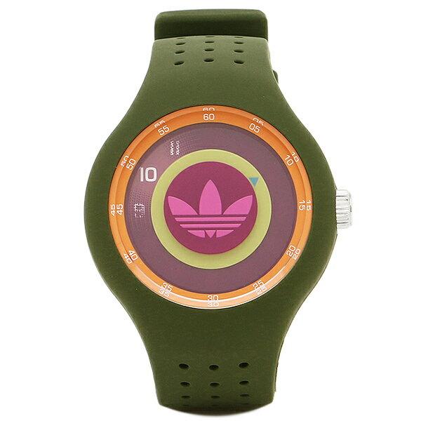 adidas green watch