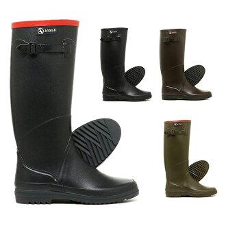 能選A陰謀雷恩長筒皮靴AIGLE雷恩長筒皮靴A陰謀高筒靴橡膠長筒皮靴CHANTEBELLEシャンタベルレディース當4彩色