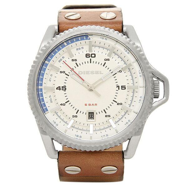 ディーゼル 時計 メンズ DIESEL DZ1715 ROLLCAGE ロールケージ メンズ腕時計 ウォッチ シルバー/ブラウン