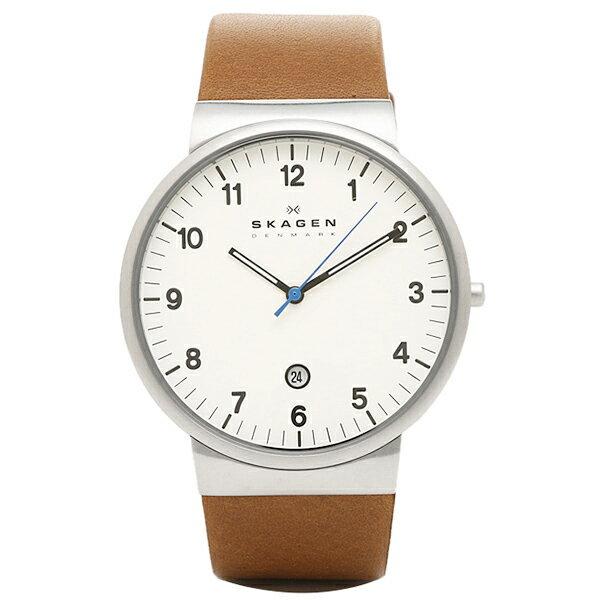 スカーゲン 時計 SKAGEN SKW6082 KLASSIK クラシック メンズ腕時計 ウォッチ ブラウン オンライン/ホワイト/シルバー:ブランドショップ AXES【s0615】