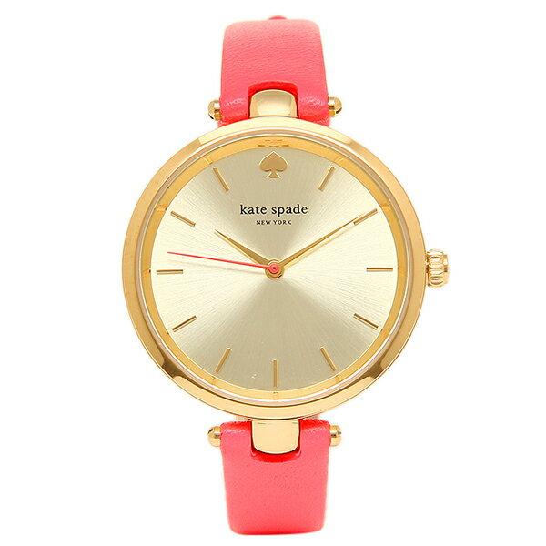 ケイトスペード 時計 KATE SPADE KSW1135 HOLLAND ホーランド レディース腕時計ウォッチ レッド/ゴールド ケイトスペード 腕時計 KATESPADE レディース
