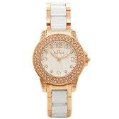 フォリフォリ 時計 FOLLI FOLLIE WF0B048BSS XX GALA レディース腕時計ウォッチ ホワイト/ローズゴールド