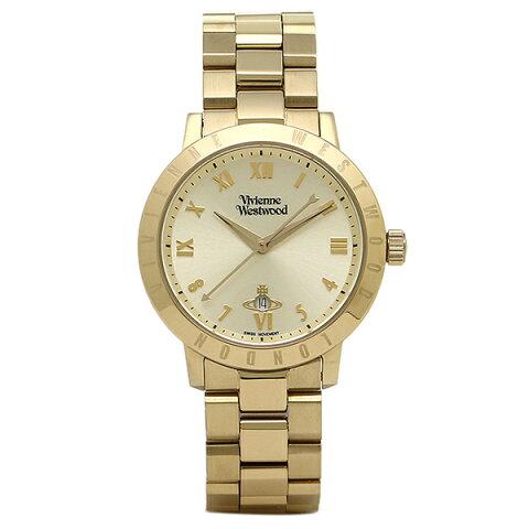 ヴィヴィアンウエストウッド 時計 VIVIENNE WESTWOOD VV152GDGD BLOOMSBURY ブルームズベリー レディース腕時計 イエローゴールド クリスマスセール
