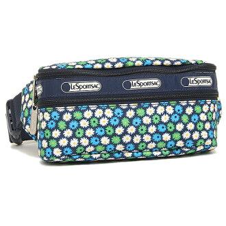 Lesportsac LESPORTSAC 5303 D841 雙郵編帶包肩袋 / 腰包旅行雛菊