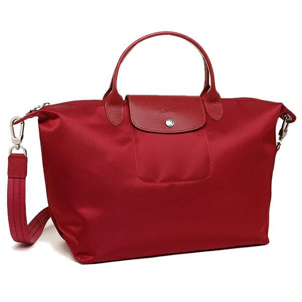 ロンシャン バッグ LONGCHAMP 1515 578 379 プリアージュネオ LE PLIAGE NEO TOP HANDLE BAG 2WAYバッグ RUBY
