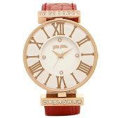 フォリフォリ 時計 FOLLI FOLLIE WF1B029SSSRE ダイナスティ DYNASTY レディース腕時計ウォッチ ホワイト/ピンクゴールド/レッド