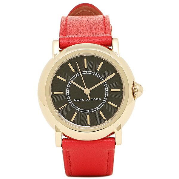 マークジェイコブス 時計 MARC JACOBS MJ1452 COURTNEY コートニー レディース腕時計 ブラック/ゴールド/レッド 【10%OFFクーポン対象商品 3/21~3/24 09:59】MARC JACOB マークジェイコブス